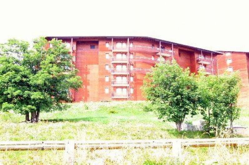 Location de vacances - Appartement à Le Corbier - Résidence LES PISTES - Bâtiment A - Coté vallée