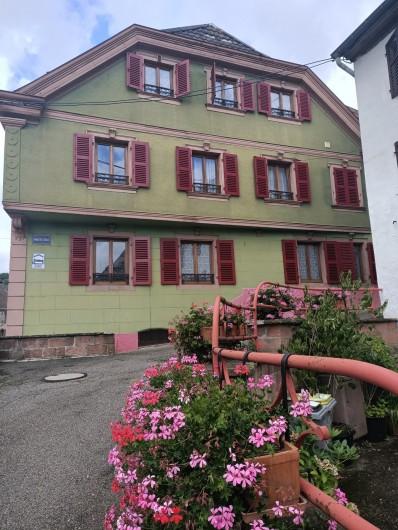 Location de vacances - Chambre d'hôtes à Sainte-Marie-aux-Mines - Vous souhaite  un très agréable séjour de 2 jusqu'à  9 personnes