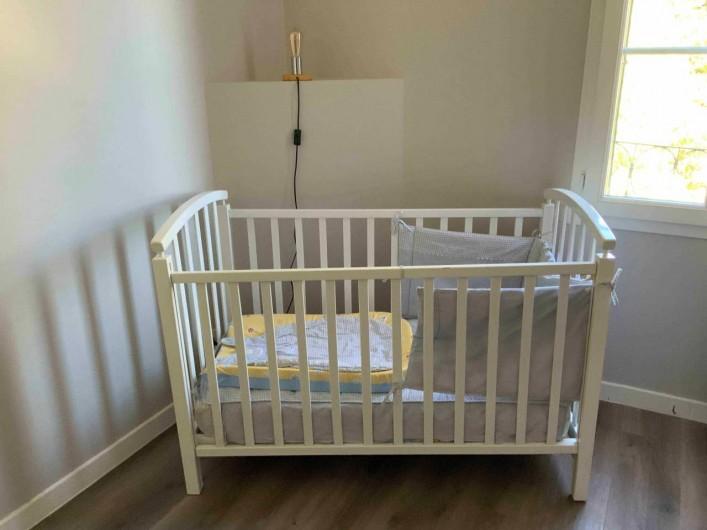 Location de vacances - Gîte à Seigy - Lit bébé