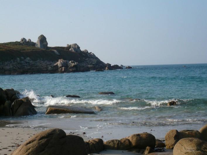 Location de vacances - Villa à Sibiril - La mer à quelques pas de la maison