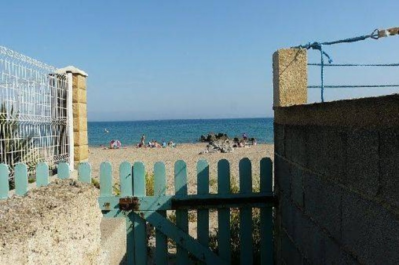 Location de vacances - Villa à Frontignan - Accés plage