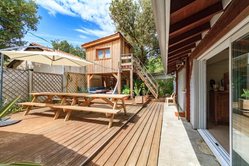 Location de vacances - Villa à Hourtin Plage - Cabane/ Chambre