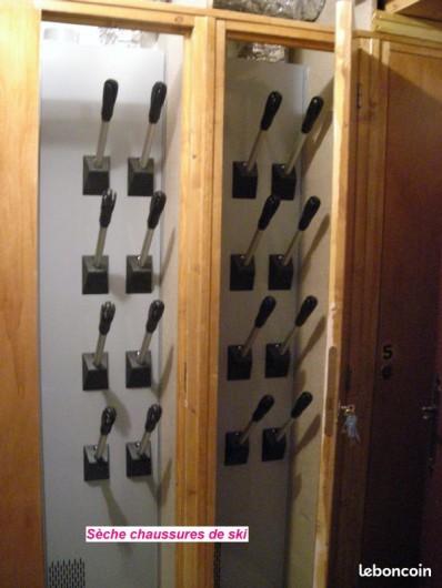 Location de vacances - Studio à Chaillol - Sèche chaussures