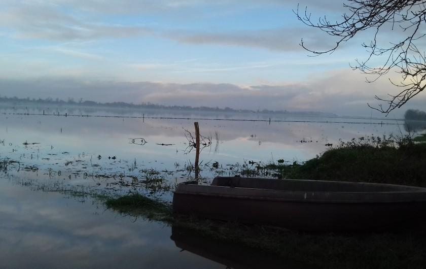 Location de vacances - Gîte à Picauville - Les marais blanc typique du Cotentin l hiver de novembre à mars suivant météo