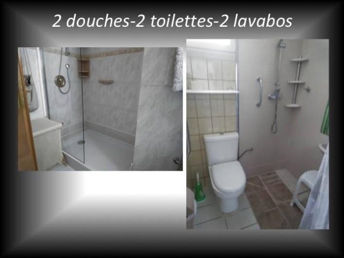 Location de vacances - Villa à Cambrils - Chambre 3 appartement 1
