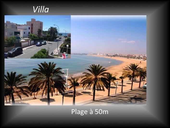 Location de vacances - Villa à Cambrils - Piscine privée