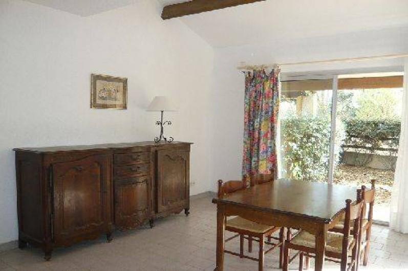 Location de vacances - Villa à Portiragnes - Villa C, vue du séjour (prise en automne)