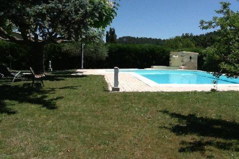 Location de vacances - Villa à Roussas - Jardin