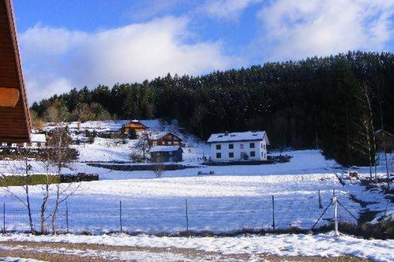 Location de vacances - Chalet à Xonrupt-Longemer - vue dégagée