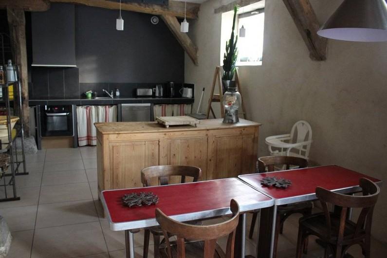 Location de vacances - Gîte à Roussennac - Cuisine de la maison d'hôtes
