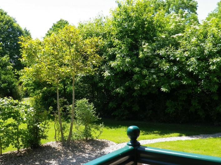 Location de vacances - Roulotte à Saint-Gilles-de-la-Neuville - Le jardin