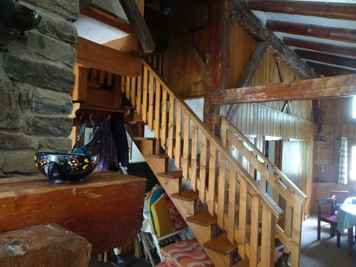 Location de vacances - Chalet à Les Houches - Côté du chalet
