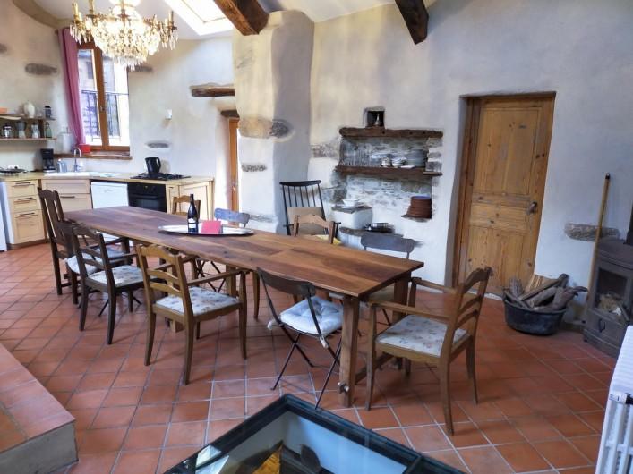 Location de vacances - Gîte à Saint-Vincent-d'Olargues - Cuisine gîte 2