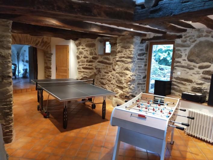 Location de vacances - Gîte à Saint-Vincent-d'Olargues - Salle de jeux gîte 2