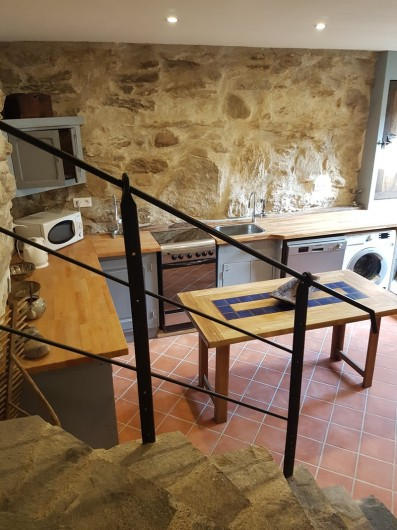 Location de vacances - Gîte à Saint-Vincent-d'Olargues - Cuisine gîte 3