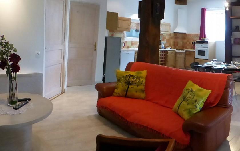 Location de vacances - Appartement à Arandon - SALON