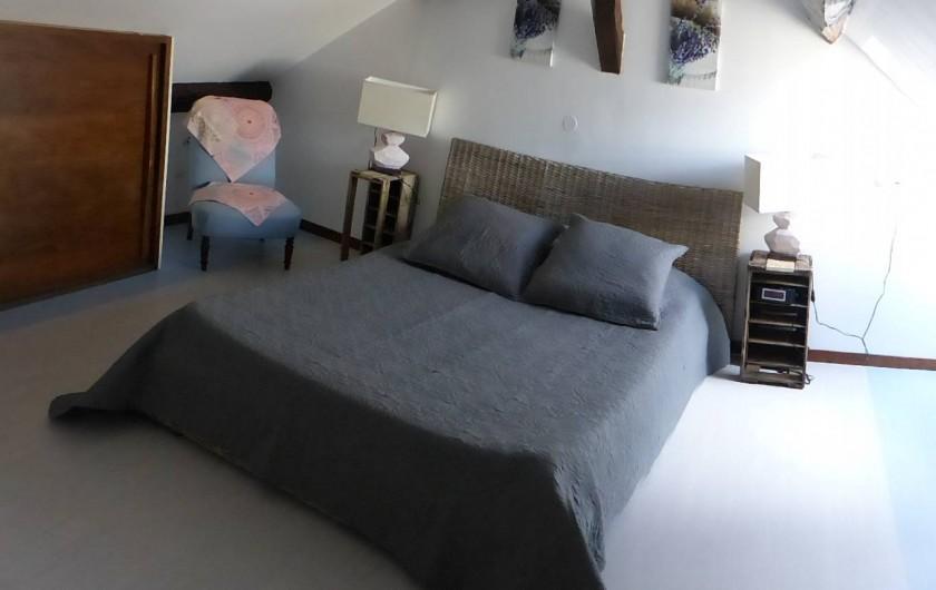 Location de vacances - Appartement à Arandon - CHAMBRE 1