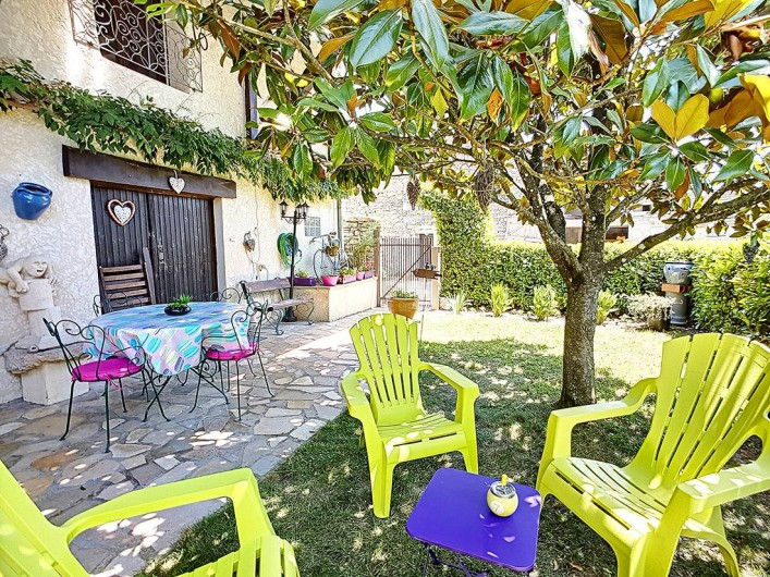 Location de vacances - Appartement à Arandon - TERRASSE