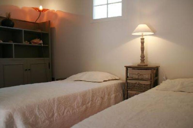 Location de vacances - Appartement à Collioure - chambre des moussaillons  2 lits en 70cm qui peuvent être rapprochés