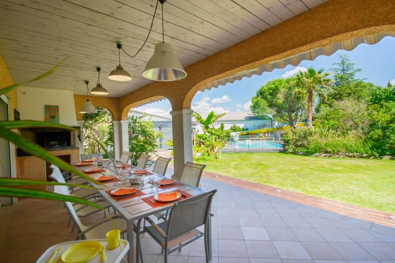 Location de vacances - Villa à Pépieux - LA COMBE BLANCHE