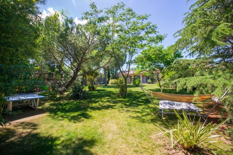 Location de vacances - Villa à Pépieux - SAUNA 4 PLACES , MUSIQUE ET CHROMATHERAPIE