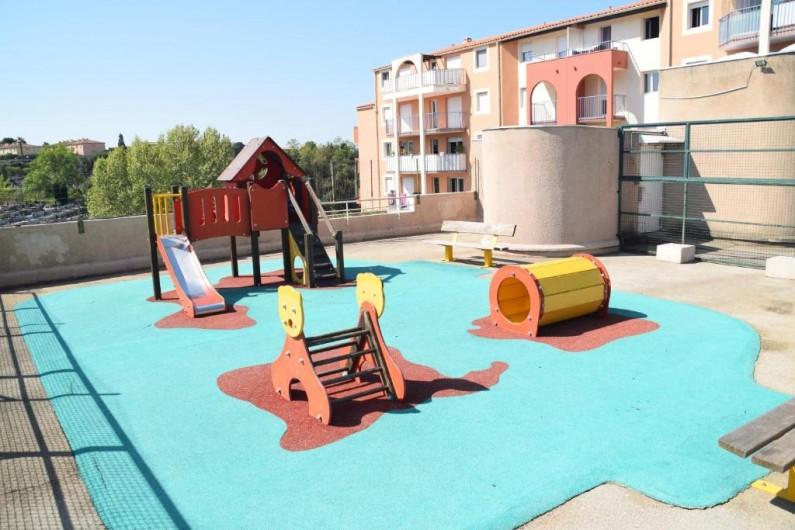 Location de vacances - Appartement à Fréjus - Jeux pour enfants