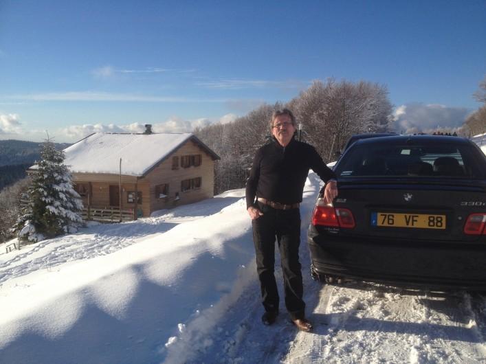 Location de vacances - Chalet à Gérardmer - Route des crêtes au sommet des pistes de skis