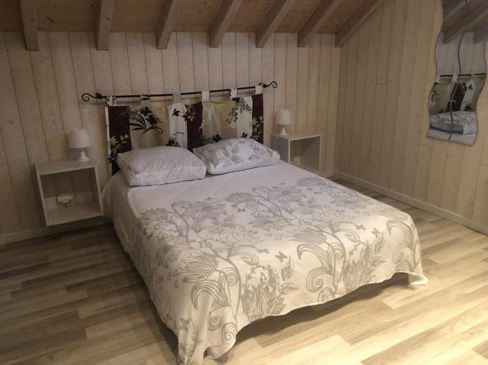 Location de vacances - Chalet à Gérardmer - à l'étage 1 lit 2 personnes  Deuxième chambre