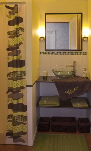 Location de vacances - Chambre d'hôtes à Saint-Yzans-de-Médoc - Chambre Tilleul