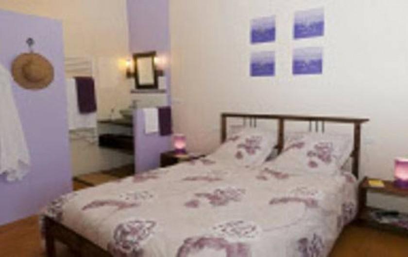 Location de vacances - Chambre d'hôtes à Saint-Yzans-de-Médoc - Chambre Parme