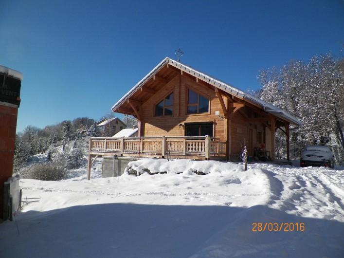 Location de vacances - Chalet à Saint-Jean-Saint-Nicolas