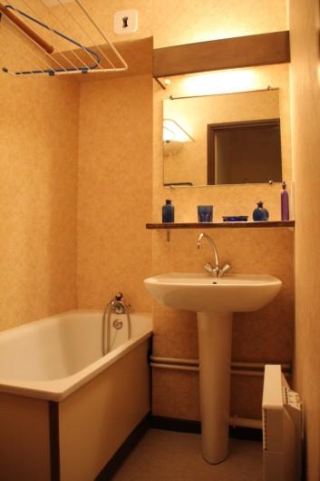Location de vacances - Appartement à Super Lioran - Salle d'eau wc indépendant