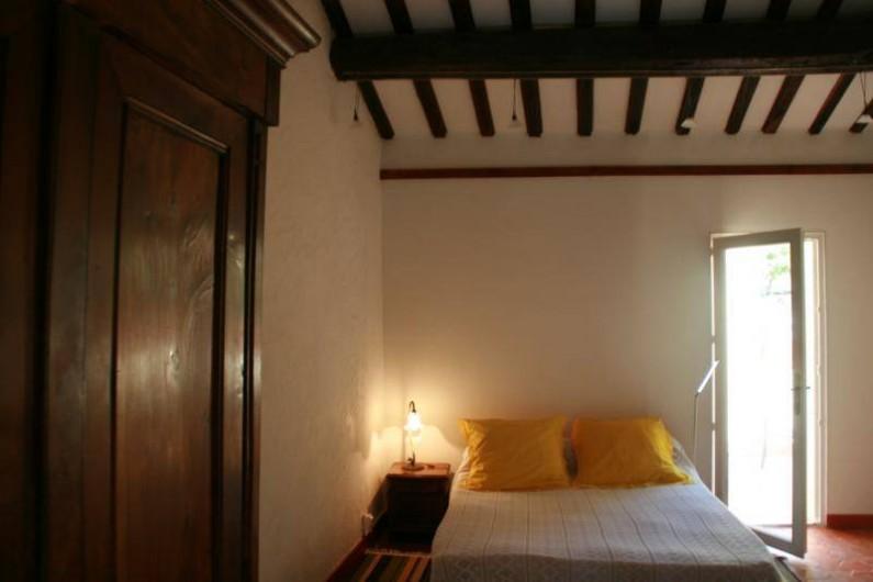 Location de vacances - Appartement à Collioure - chambre avec couchage 2 personnes