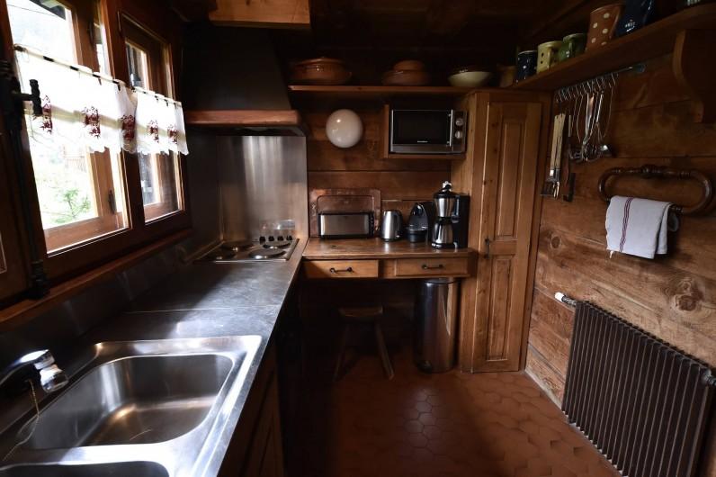 Location de vacances - Chalet à Chamonix-Mont-Blanc - Cuisine