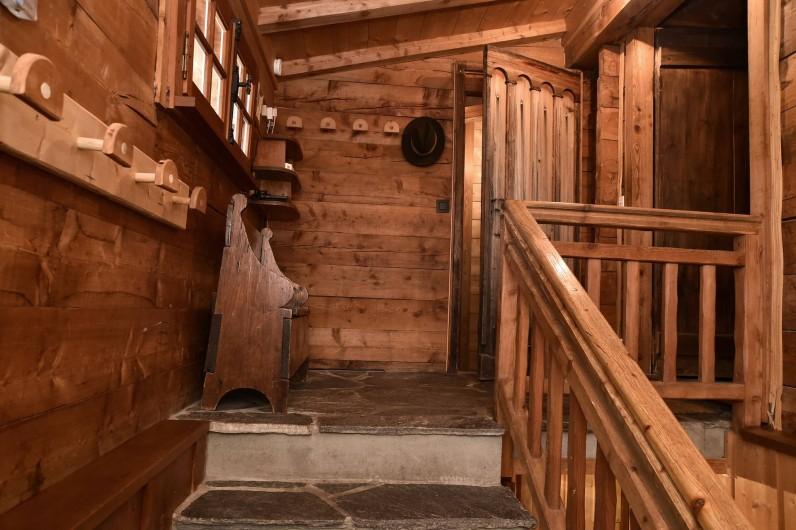Location de vacances - Chalet à Chamonix-Mont-Blanc - L'entrée