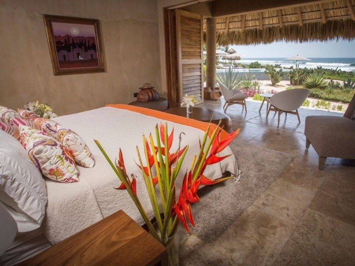 Location de vacances - Chambre d'hôtes à Puerto Escondido - Bungalow privatif