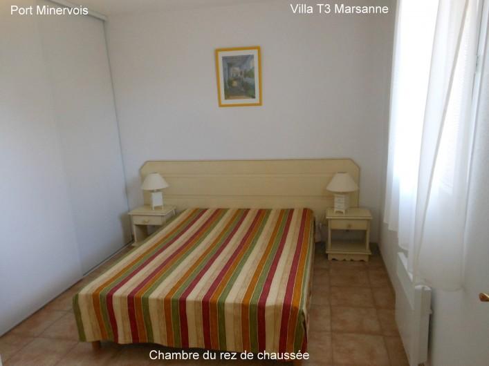 Location de vacances - Villa à Homps - Chambre du rez de chaussée