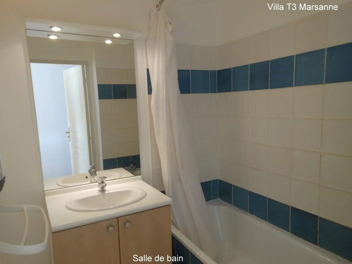 Location de vacances - Villa à Homps - Salle de bain