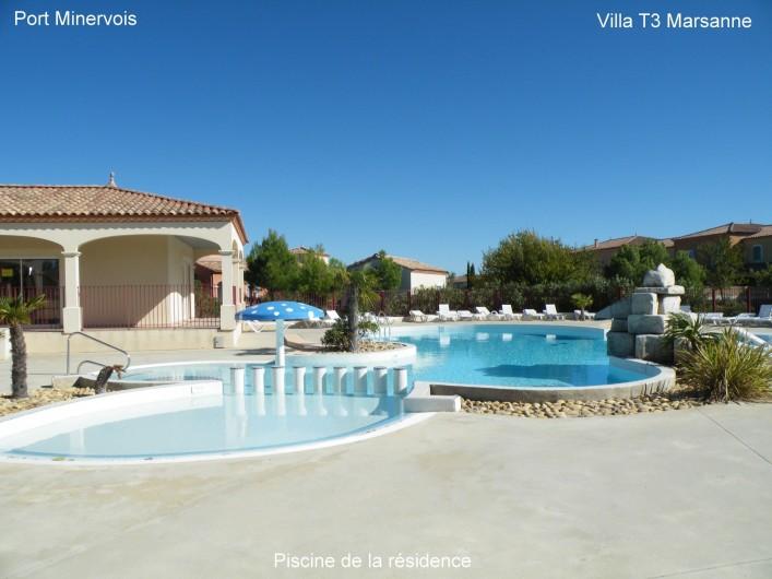 Location de vacances - Villa à Homps - Piscine