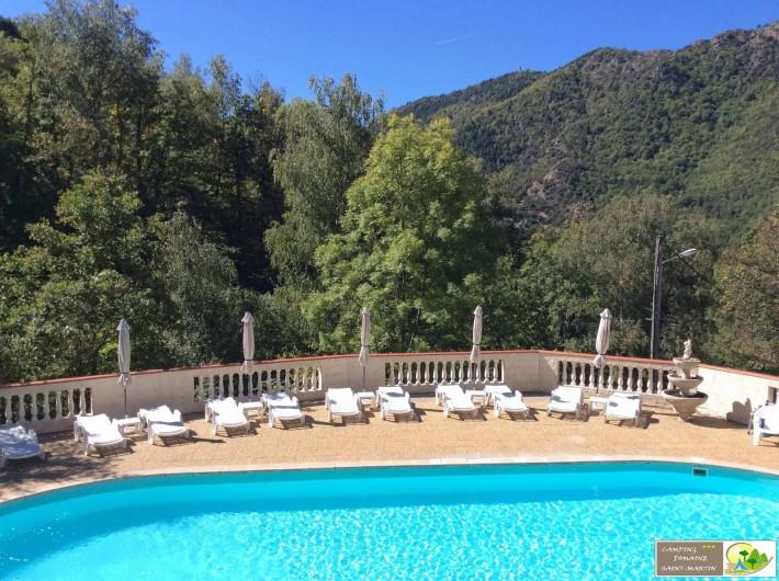 Location de vacances - Bungalow - Mobilhome à Casteil - la piscine panoramique