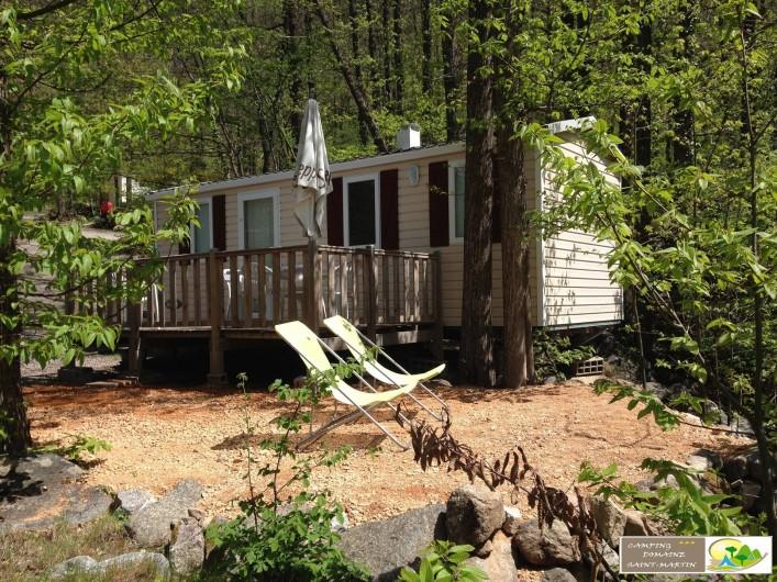 """Location de vacances - Bungalow - Mobilhome à Casteil - mobile home """"loft"""""""