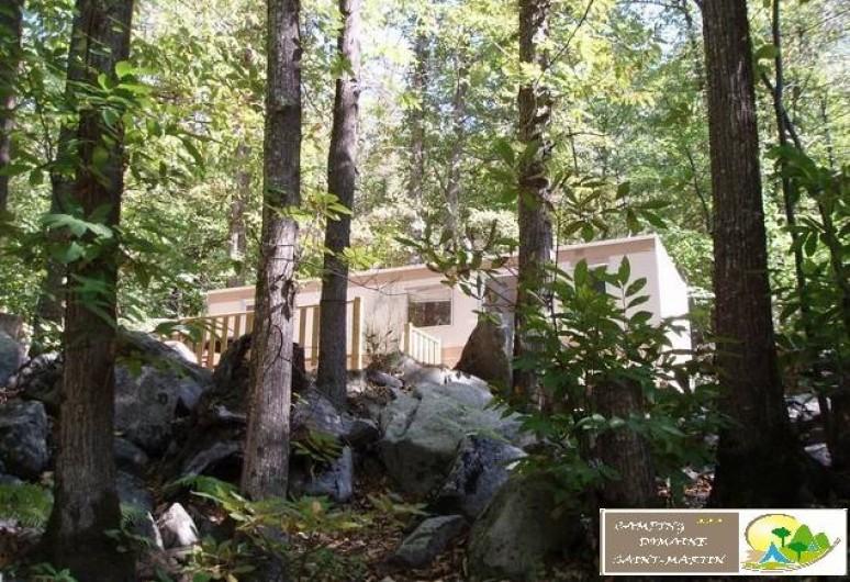 """Location de vacances - Bungalow - Mobilhome à Casteil - mobile home """"saturne"""""""