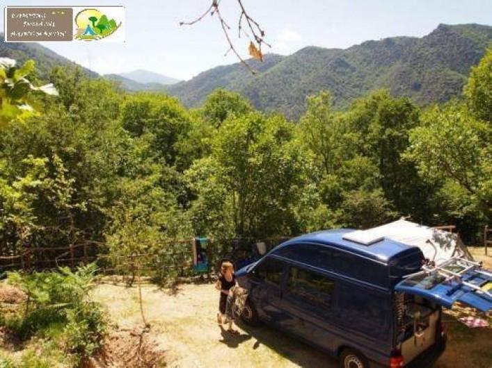 Location de vacances - Bungalow - Mobilhome à Casteil - emplacement camping car