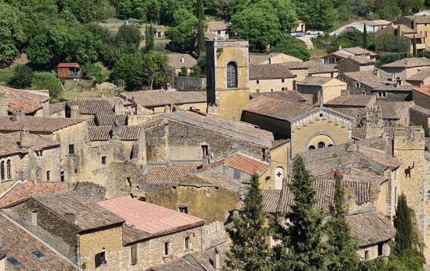 Location de vacances - Appartement à Saint-Montan - l'église  Sainte Marie Madeleine - Saint Montan