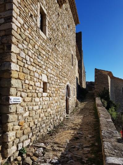 Location de vacances - Appartement à Saint-Montan - Bourg castral - Saint Montan