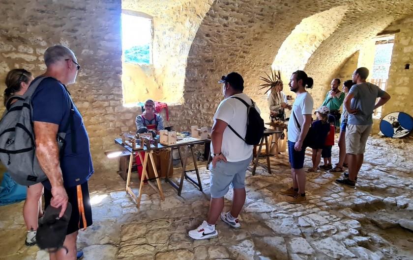 Location de vacances - Appartement à Saint-Montan - Château de Saint Montan
