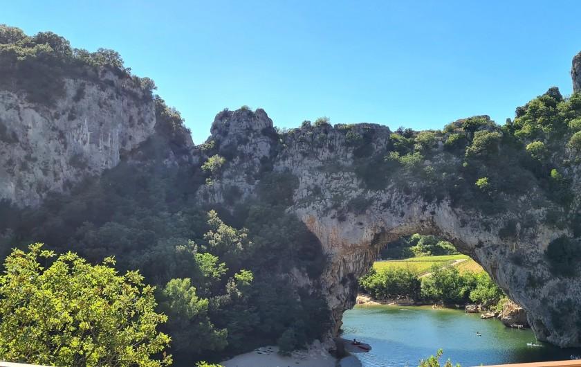 Location de vacances - Appartement à Saint-Montan - Vallon Pont d'Arc