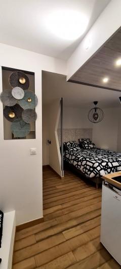 Location de vacances - Appartement à Saint-Montan - Coin nuit