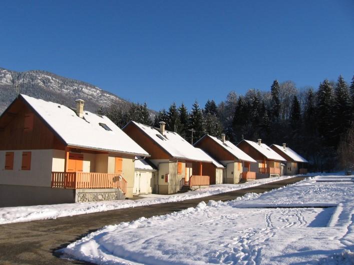 Location de vacances - Chalet à Lescheraines