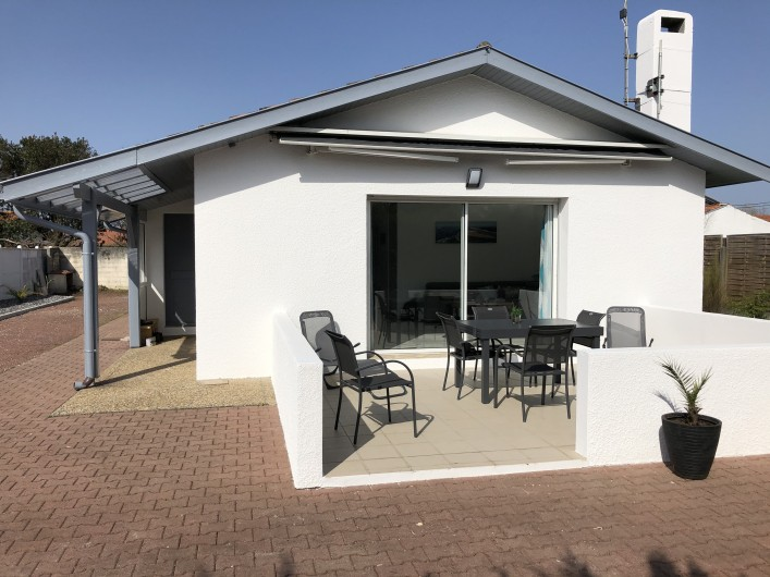 Location de vacances - Villa à La Teste-de-Buch - Terrasse